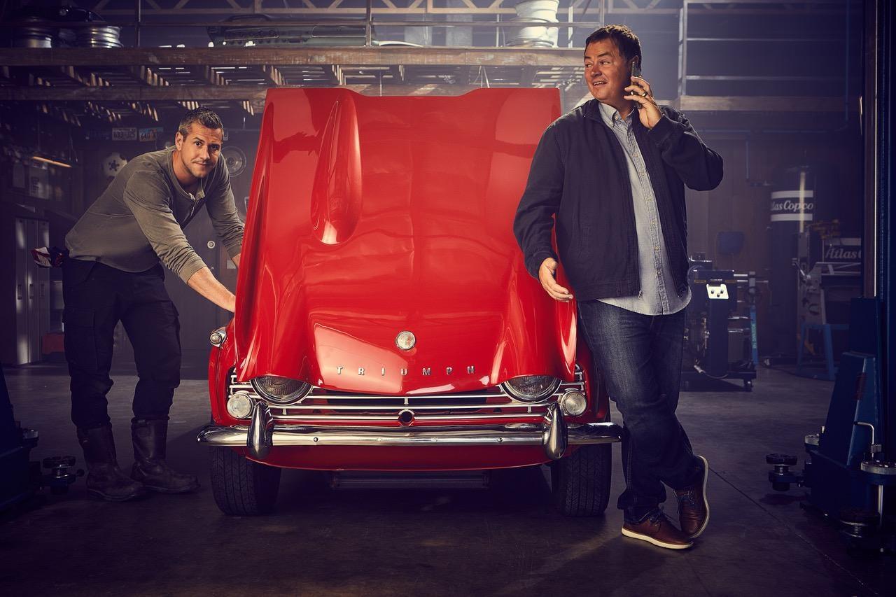 Wheeler Dealers Motorings Restoration Men Are Back For A Th - 3 british guys car show