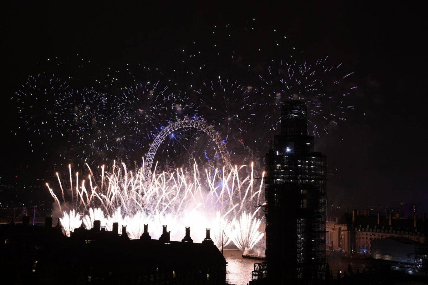 Firework Lands In Front Of House And Explodes On New Year S Eve