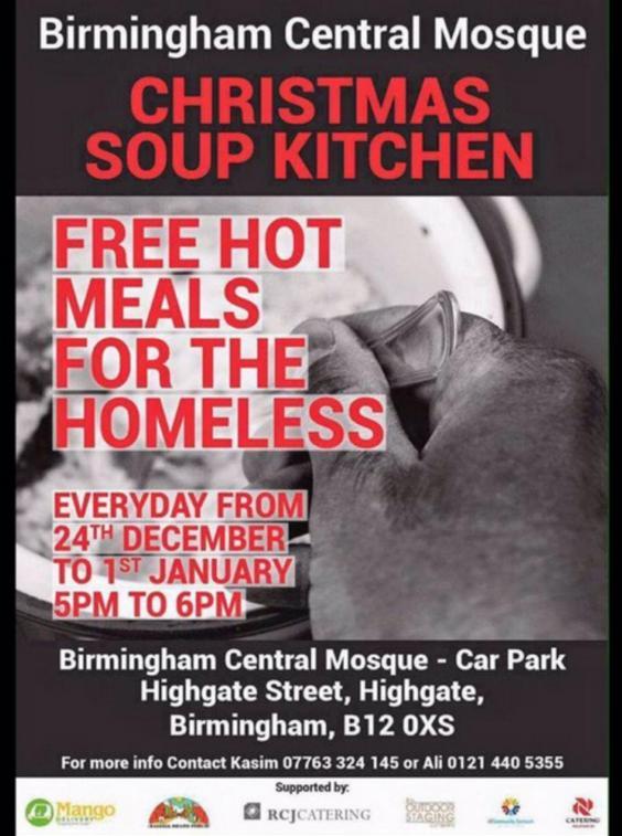 Birmingham Soup Kitchen Christmas