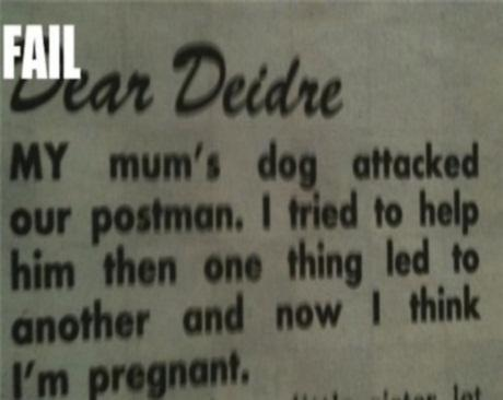 how to write an agony aunt letter