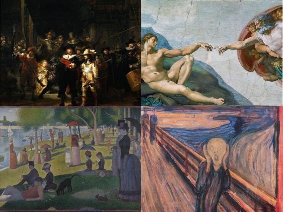 can you identify the world s most famous paintings indy100