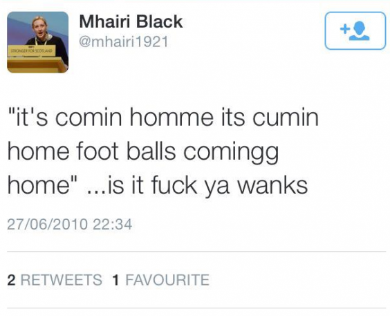 We Enjoyed Reading Mhairi Blacks NSFW Tweets As A Teenager Indy - The 20 funniest tweets from parents since 2017