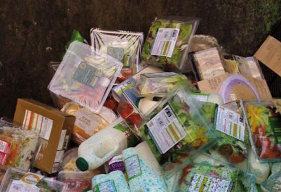 Food Waste London Supermarkets Statistics