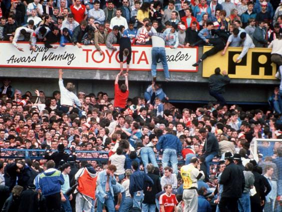 Hillsborough Stadium Disaster Fence