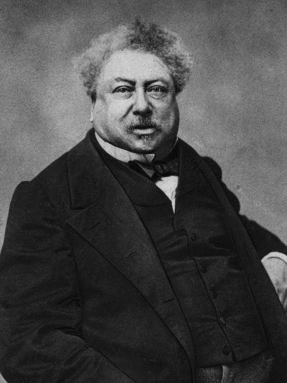 Alexandre Dumas (1802-1870) [https://static.independent.co.uk]