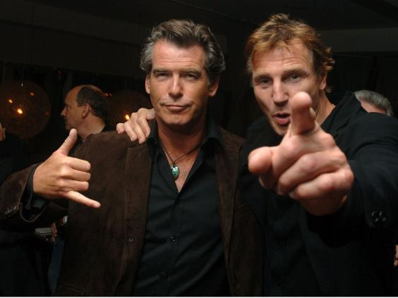 Liam Neeson and Pierce Brosnan to shoot Christmas movie in Belfast ...