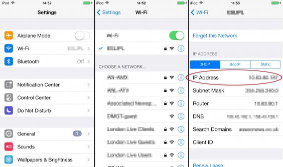 how to delete my ip address