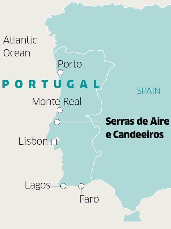 Bespoke Emotion On An Ebike Exploration In Portugal The Independent - Portugal estremadura map