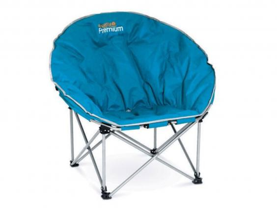 Camping Chairs Arent Known For Comfort But Sinking Into This One Feels More Relaxing Than Most Its Quite Bulky To Store So Take If Youve