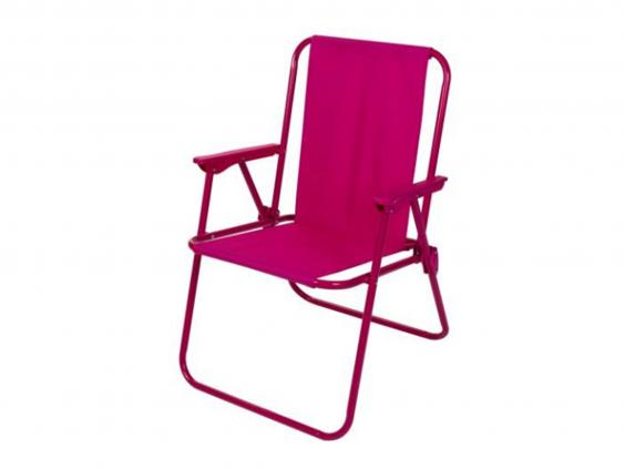 Camping On A Budget? Sainsburyu0027s Good Value Pink Chair Is A Great Option.  It Might Not Have Bells And Whistles, But It Folds Compactly And Adds  Colour To ...