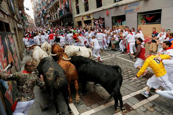 Running Of The Bulls Uniform Running of the Bulls p...