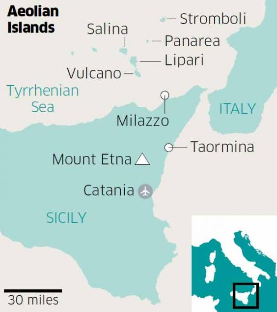 Sicily and the Aeolian islands Islandhopping in the land of fire