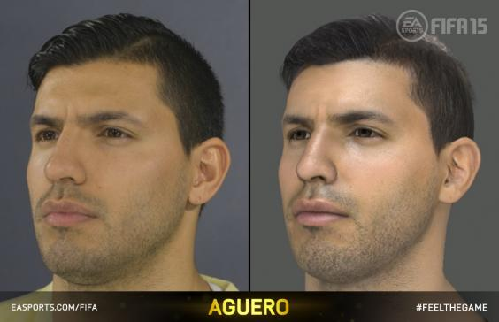 Players with scanned faces fifa 2018 zigic fifa 09