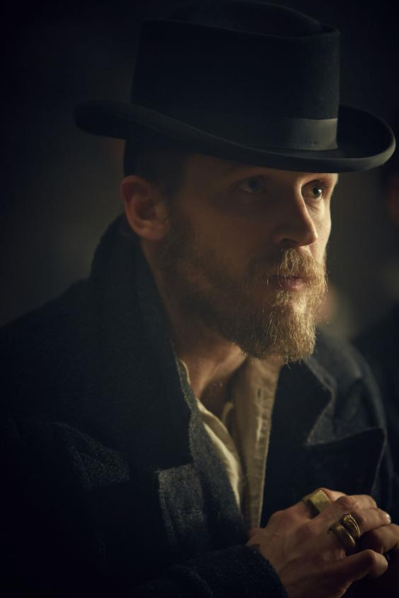 Peaky Blinders series 2: First images of Tom Hardy ...