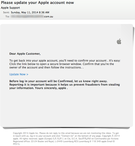 Apple iCloud security scam: experts warn of hoax emails supposedly ...