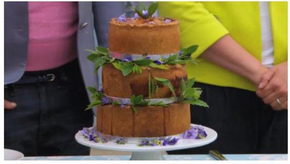 Star baker Kate's pie 'Showstopper' got Paul's approval.JPG
