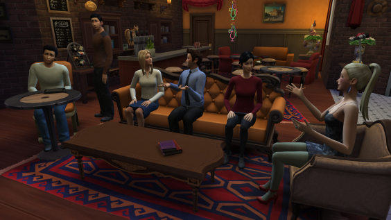 Someone recreated Friends in The Sims 4 and did a damn  : 1020 203j0u3sk from www.independent.co.uk size 564 x 317 png 270kB