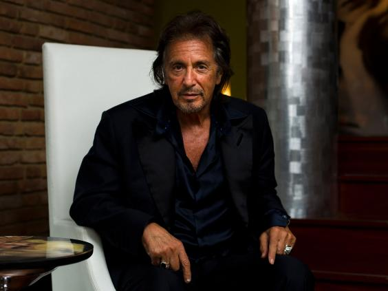 Al Pacino interview: H... Al Pacino Interview Godfather