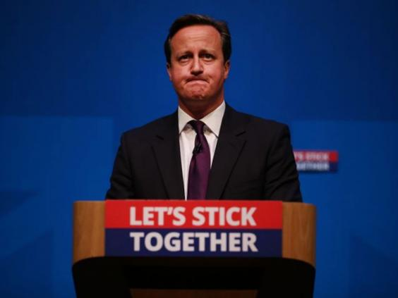 scottish independence the blame game begins in no camp even  cameron independence getty jpg