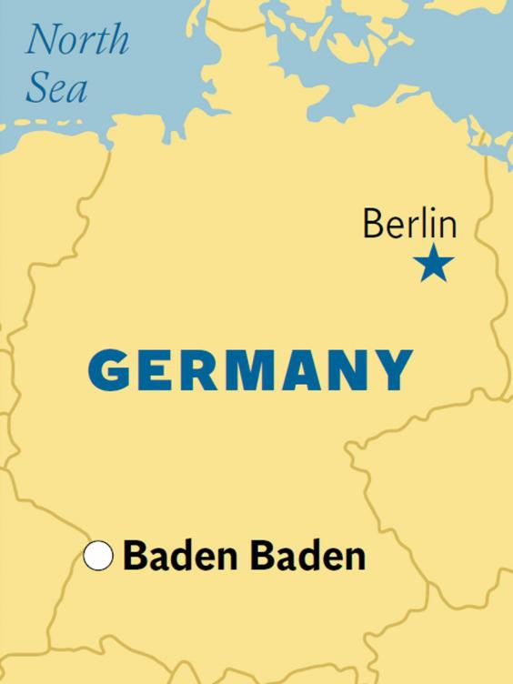 Germany Casinos Map