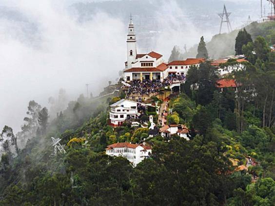 Monserrate in Bogota, | Expedia