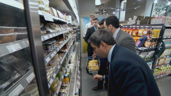 Felipe, Daniel, Solly, Scott and Robert at Supermarket - Embargoed to 00.01 14th October 2014.jpg