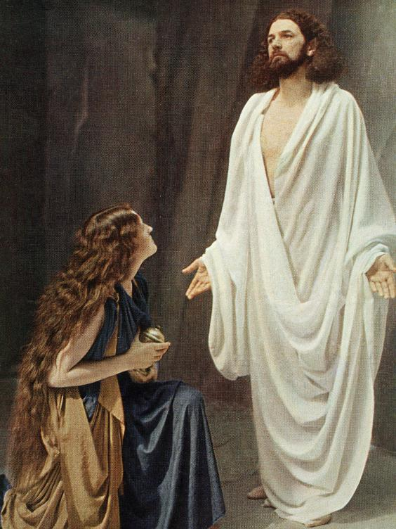Mary Magdalene And Baby Jesus