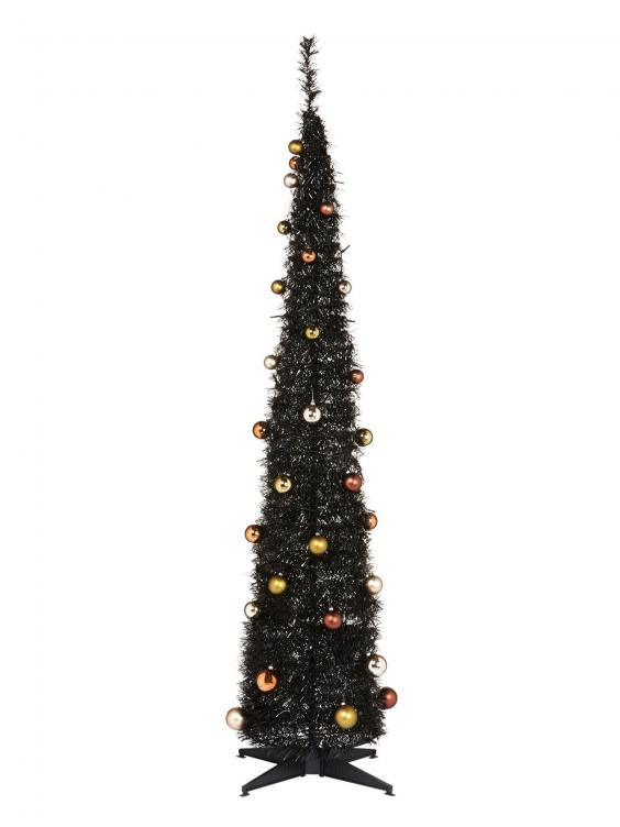 Black Christmas Tree 6ft