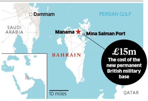 British Navy base in Bahrain faces legal challenge after ...