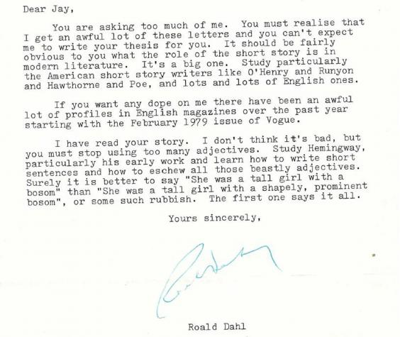 roald dahls childhood essay James and the giant peach is 50 years old in the story his parents die a violent death and james escapes abusive relatives why was roald dahl so dark there's a perception that children's literature involves endless picnics where the strawberry jam and lashings of ginger beer never run out but roald.