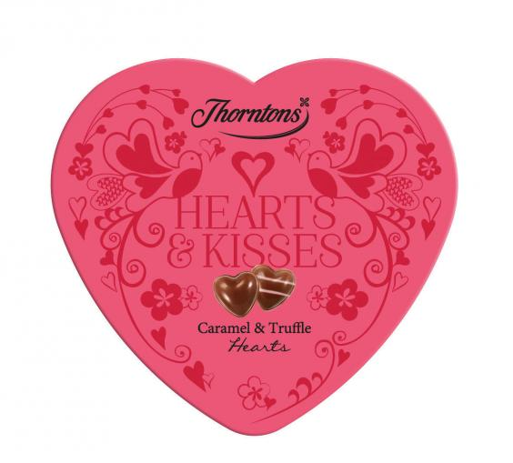 Another Heart Shaped Box With Another Set Of Yummy, Indulgent Delights.  This One Contains Gooey Caramel And Smooth Melty Chocolate Truffles, ...
