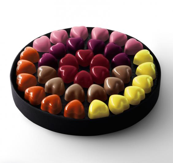 This Box Are A Real Treat To Look At, As Well As Eat. The Coeurs Collection  Is Made Up Of Little Chocolate Hearts Filled With Delicious Fillings From  The ...