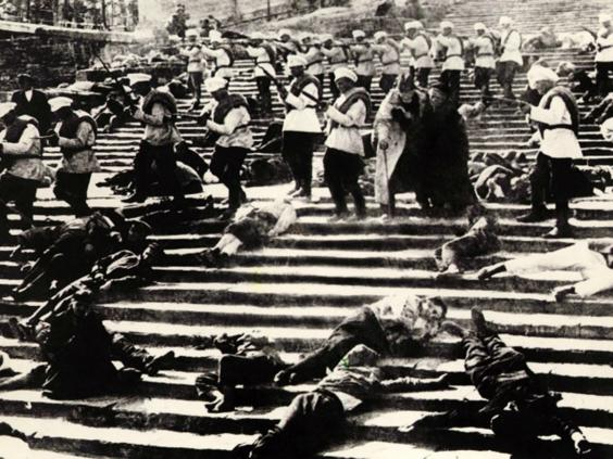 odessa steps sequence Battleship potemkin: odessa steps sequence - duration: 4:50 laura kendall 5,952 views 4:50 the best james bond car chase scenes - duration: 13:05.