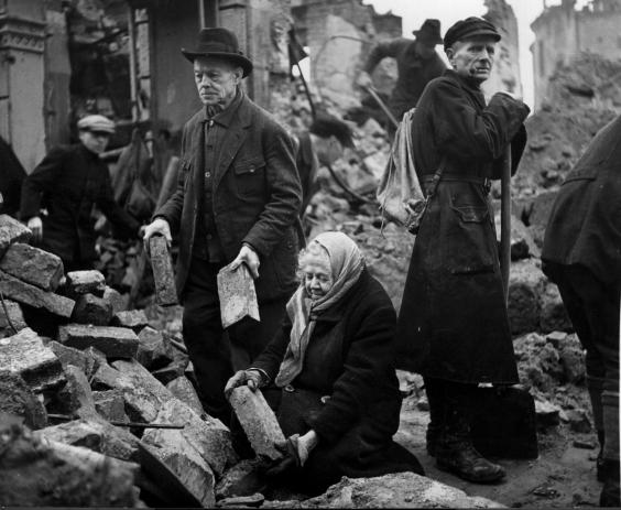 Dresden Bombing 70 Years On A Survivor Recalls The Horror