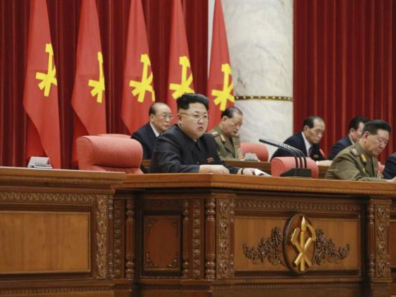 Kim Jong Un North Korean Dictator Turns Heads With Severe