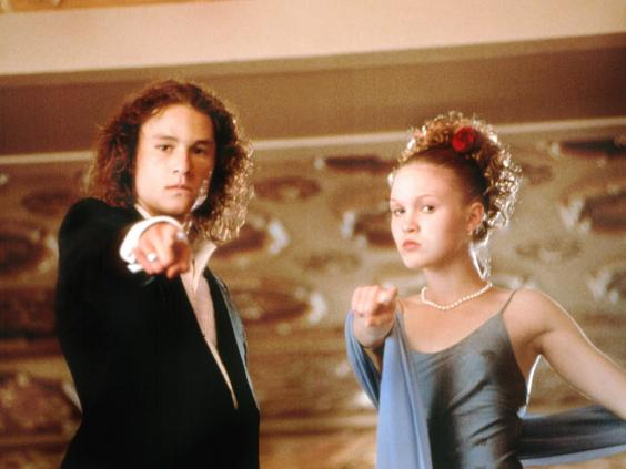 10 Things I Hate About You Movie Scenes: Julia Stiles Interview: 'I'm Paid To Kiss Strangers