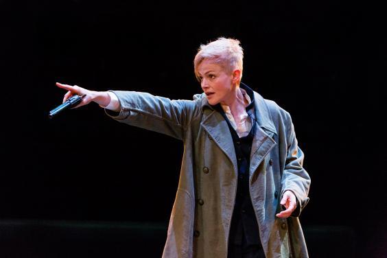 Maxine  Peake as Hamlet in HAMLET (Royal Exchange Theatre until 25 October). Photo - Jonathan Keenan.jpg