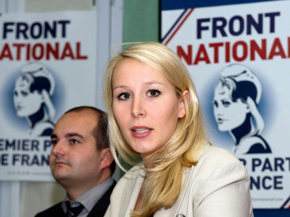 Marion Mar  chal Le Pen  The poster girl of the French far right is     The Independent