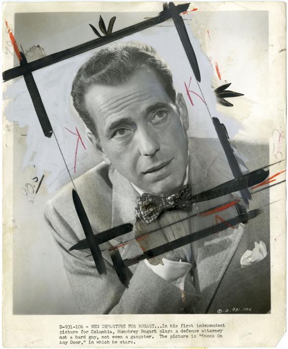_Bogart - 1949_ Tirage argentique vintage retouche¦ü a¦Ç la main, 20 x 25 cm - Pie¦Çce unique - Courtesy ARGENTIC.jpeg