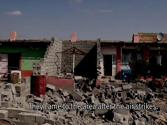 Iraq security forces burn Sunni villagers homes 'to the ...