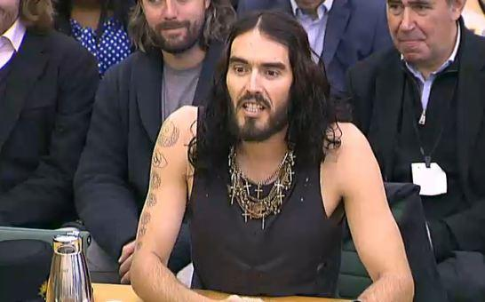 russell brand select committee.JPG