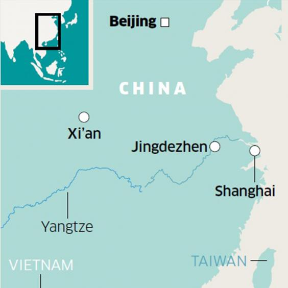 Jingdezhen China The Birthplace Of A Nation And Its White Gold - Jingdezhen map