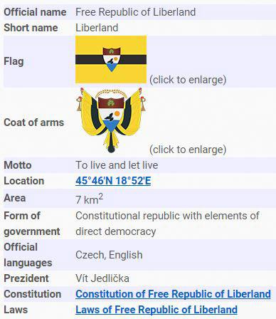 Wel e to Liberland Europe s tiny new country where taxes are