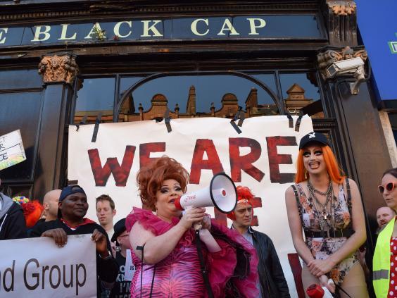 from Toby black cap gay bar london