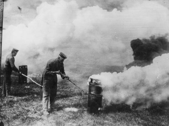 world war i poison gas Gas warfare is a method of war that employs weapons that are designed to cause casualties primarily through the use of harmful chemical.