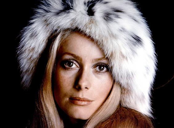 catherine deneuve young