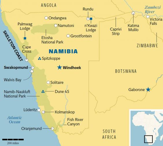Namibia guide From Mad Max to wildlife watching its an enticingly