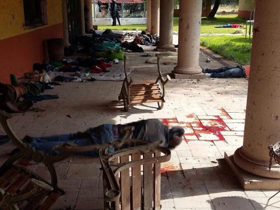Mexican Gunfight Kills 43 As Police And Drug Cartels