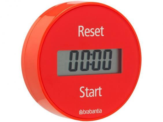 For The Best Of Both Worlds, This Slick Plastic Timer From The Dutch Brand  Combines A Digital Display With The Old School Twist To Set Mechanism.