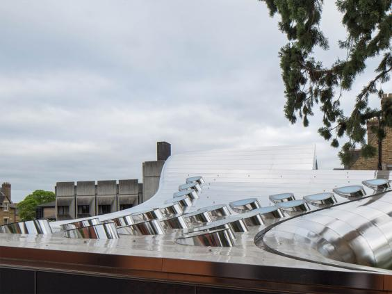 Modern Architecture Zaha Hadid zaha hadid's modernist library inspires shock and awe in oxford